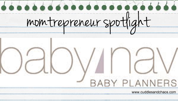 Momtrepreneur: BabyNav Baby Planners