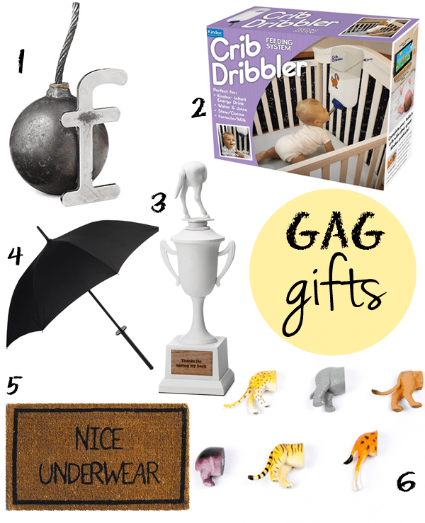 fun gag gift ideas