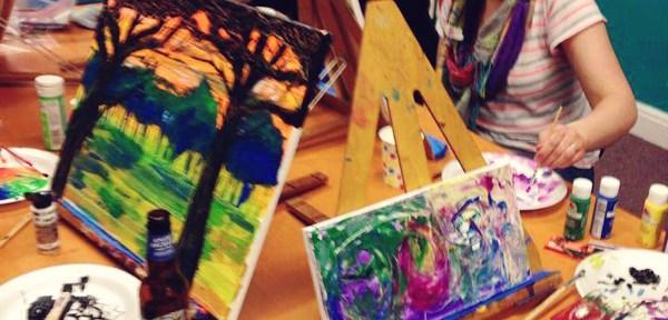 Orange Splot Art Spot: Westchester Girls Crafty Night Out