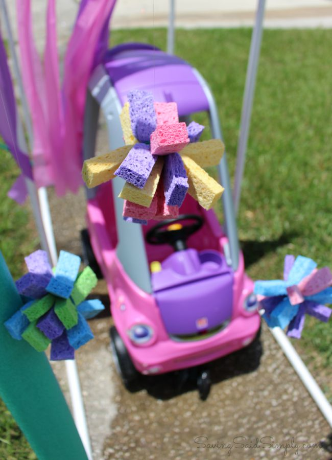 50+ Outdoor Kids Activities - Kids Car Wash