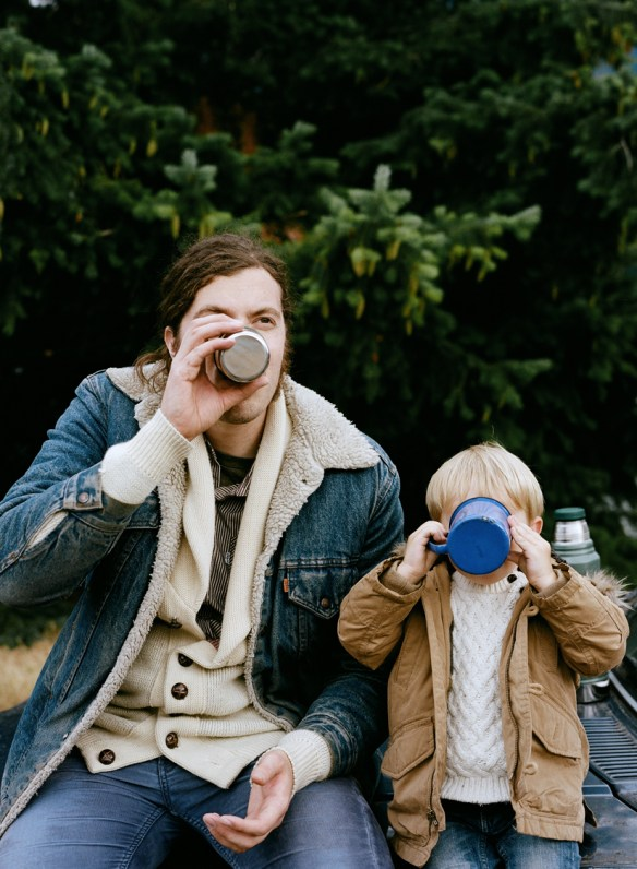 celebrating fatherhood: PRker Fitzgerald for Kinfolk Magazine