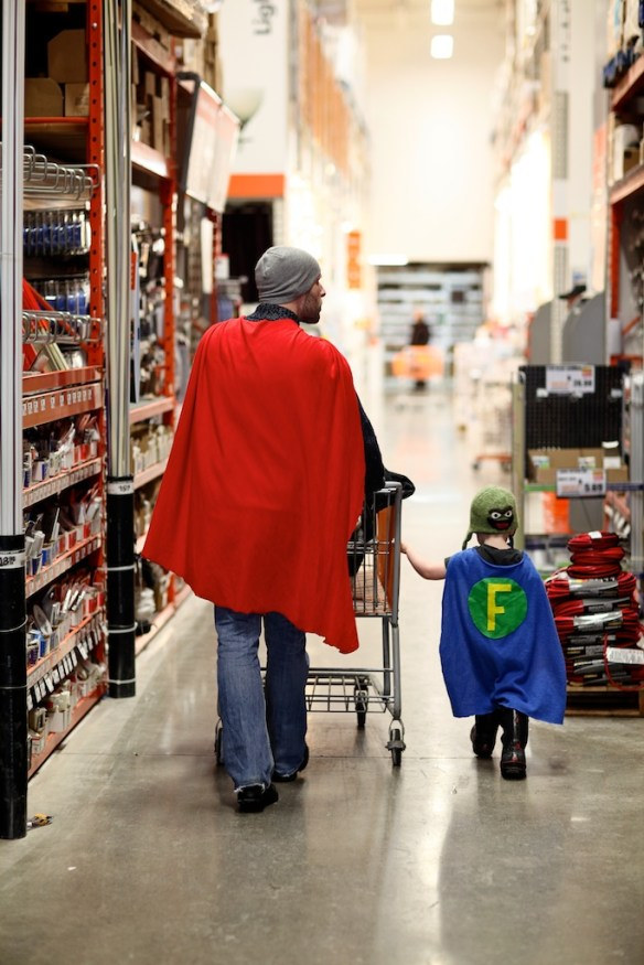 celebrating fatherhood: via Huffington Post
