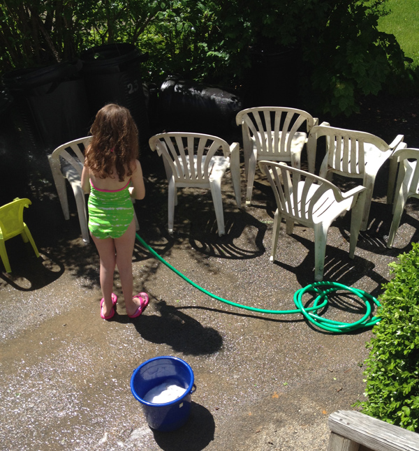 life lately: putting the girls to work