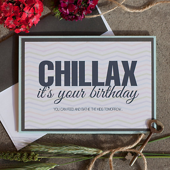 Rena Franco Design: chillax card