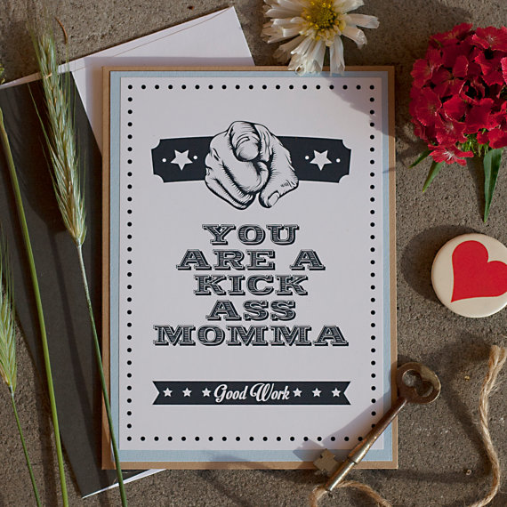 Rena Franco Design: kick ass momma card