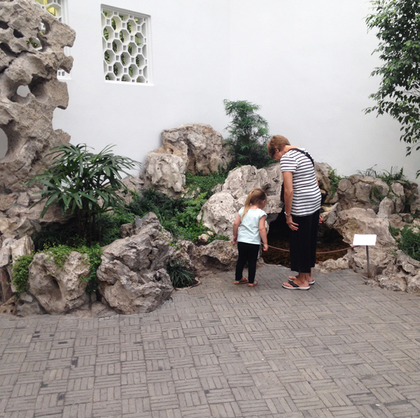 the met with kids: zen garden