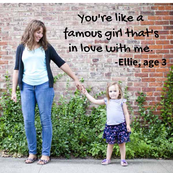 things my kids said | famous girl that's in love with me