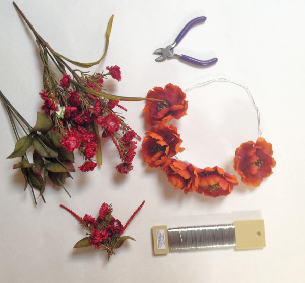 DIY flower crown fill in