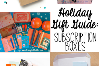 holiday gift guide | subscription boxes
