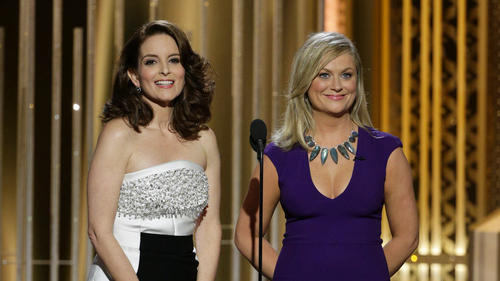 2015 Golden Globes | Tina Fey and Amy Poehler: girl power