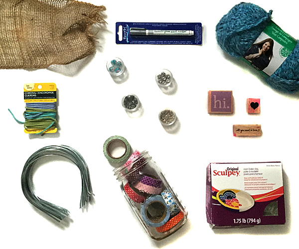 DIY craft supply purge