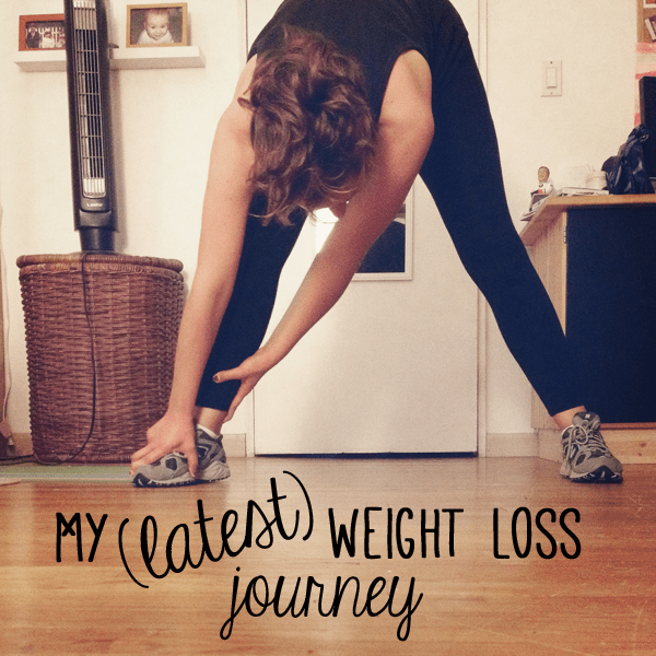 my latest weight loss journey