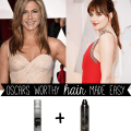 Oscars 2015 hair | get the look: Jennifer Aniston and Dakota Johnson