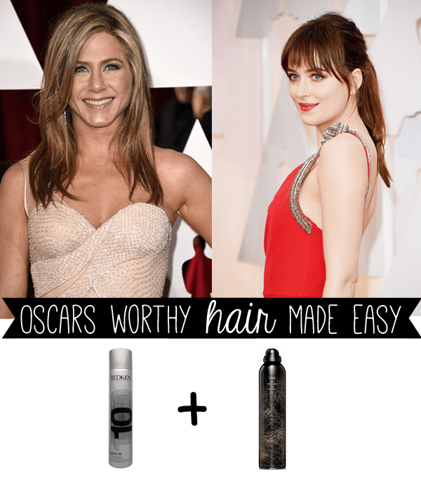 Oscars 2015 hair | get the look: Jennifer Aniston and Dakota Johnson