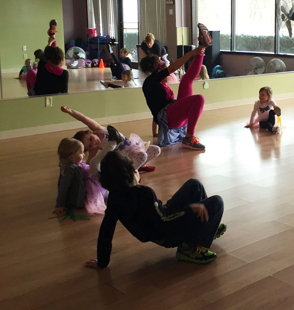 Westchester kids zumba party