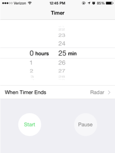 tools that make me more efficient: timer app
