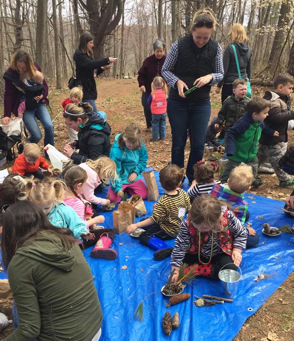 Tinkergarten outdoor play classes for kids