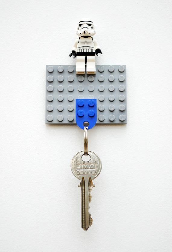 father's day gift guide | DIY LEGO key holder