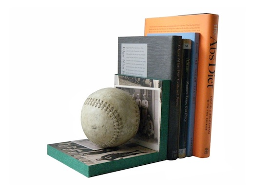 father's day gift guide | DIY baseball bookends