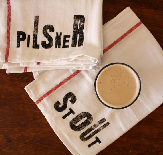 father's day gift guide   Nesta Home beer towels