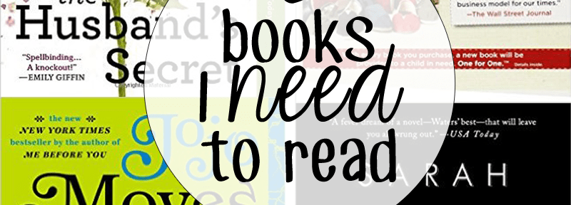 books I need to read