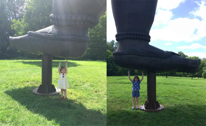 family outing at Storm King Art Center | Hudson Valley