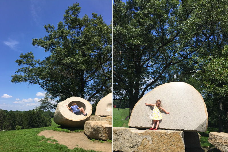 kid friendly fun at Storm King Art Center