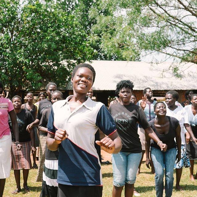 31 Bits aerobics class in Uganda