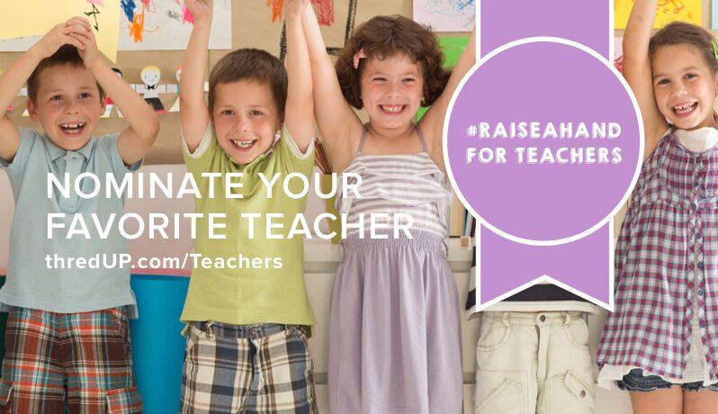#RaiseAHand for Teachers
