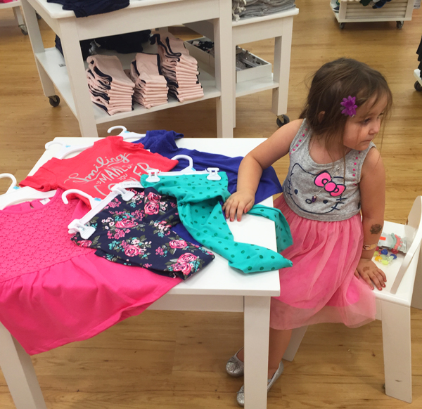 back to school shopping with Carters