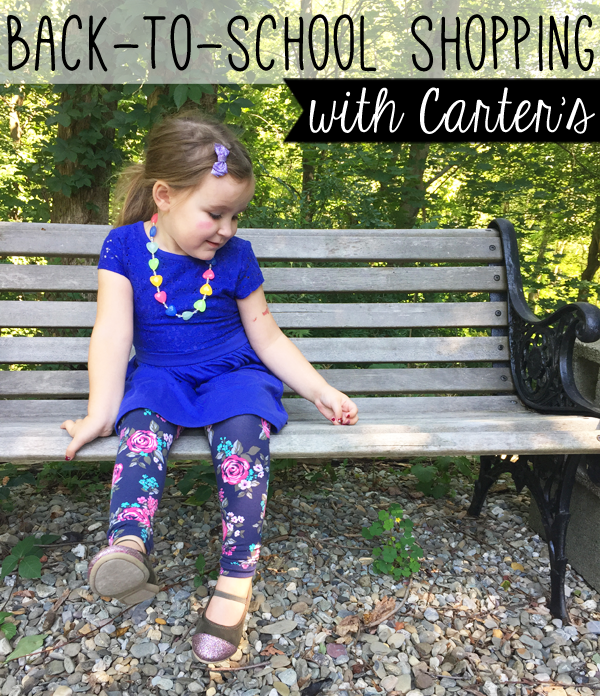 back-to-school shopping with Carter's