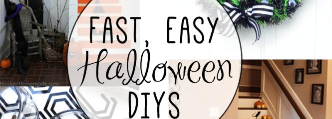 fast easy DIY Halloween decor
