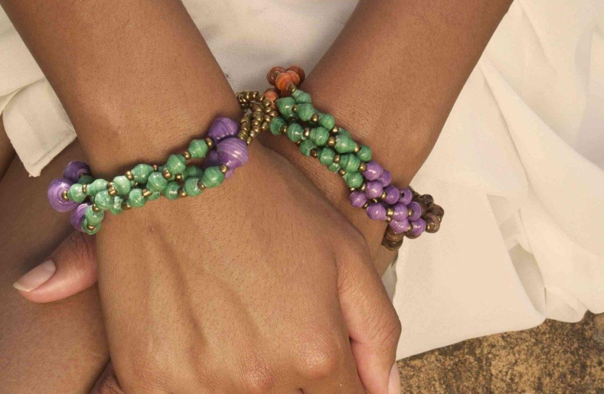 To the Market | 22STARS Bitalo Ugandan Paper Bracelet
