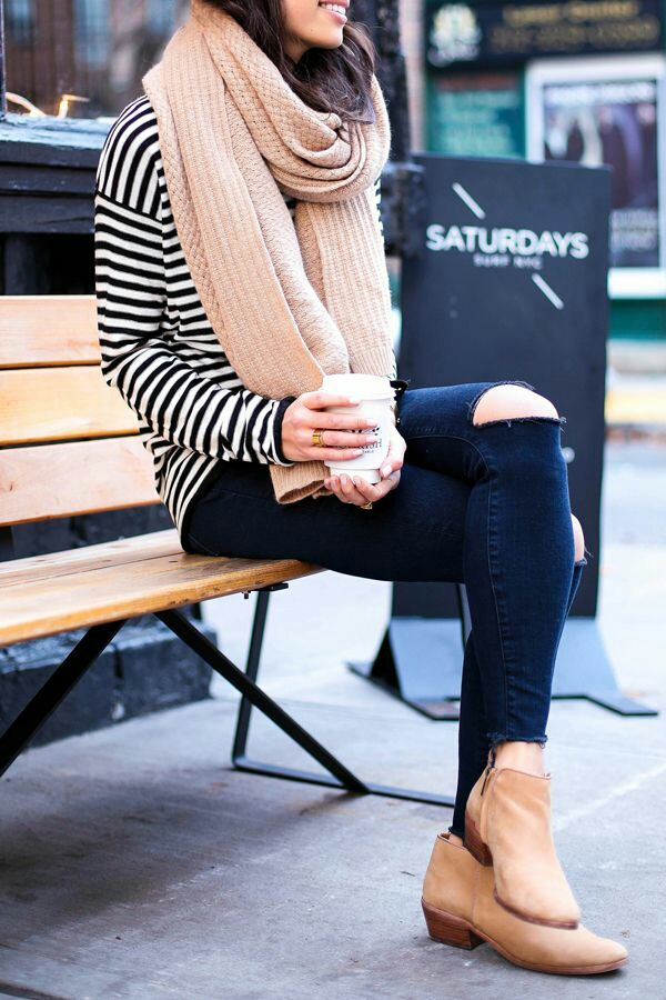 cold weather fashion | via Britta Nickel