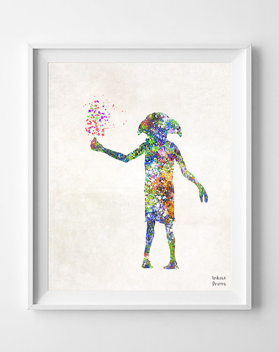 Whimsical Wall Art | Inkist Prints Dobby print