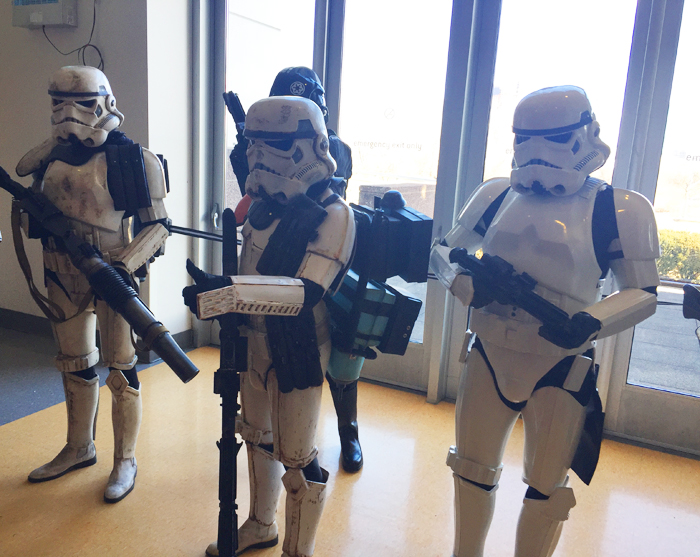 Liberty Science Center | Storm Troopers at Science, Sabers and Star Wars