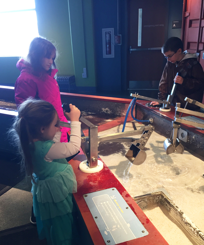 Liberty Science Center | simple machines in the Our Hudson Home exhibition