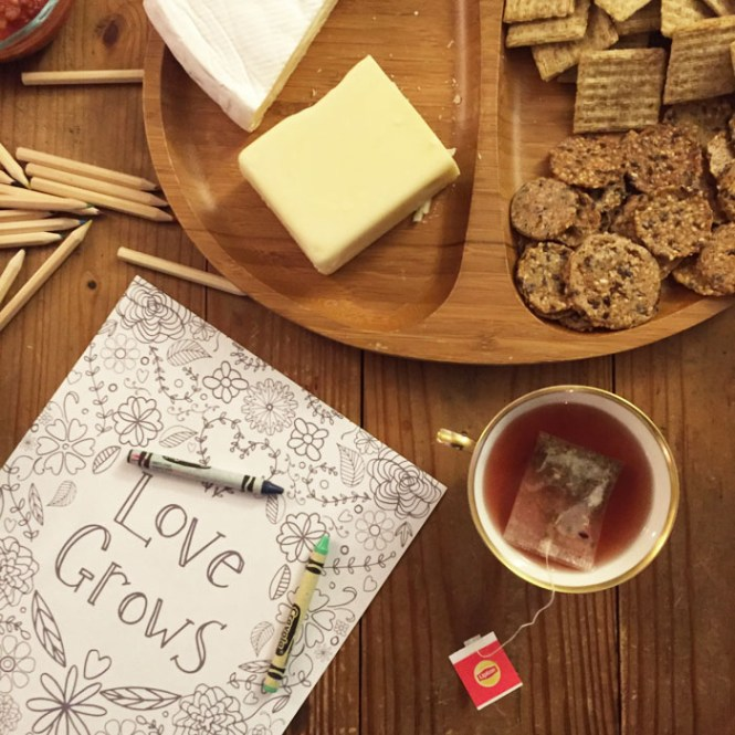 crafty tea party snacks