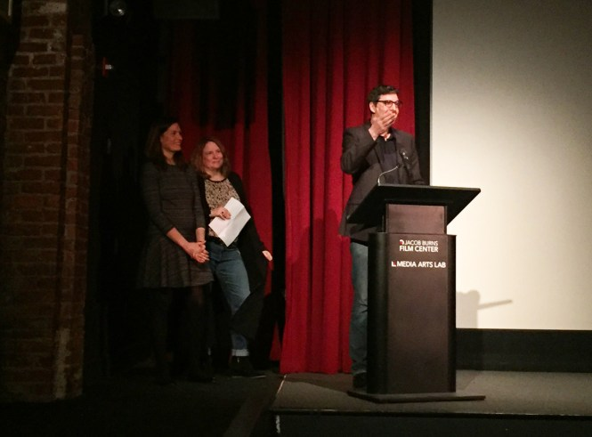 Mark Osborne at the Jacob Burns Film Center screening of The Little Prince