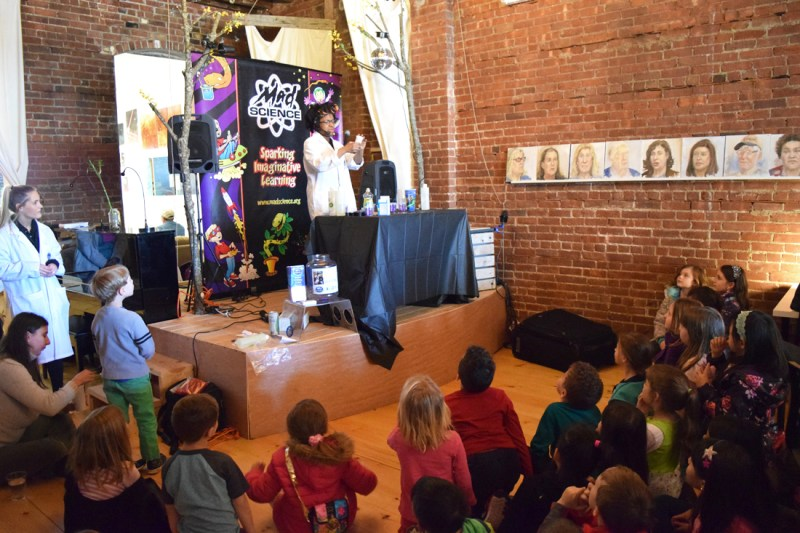 Mad Science party in Peekskill NY