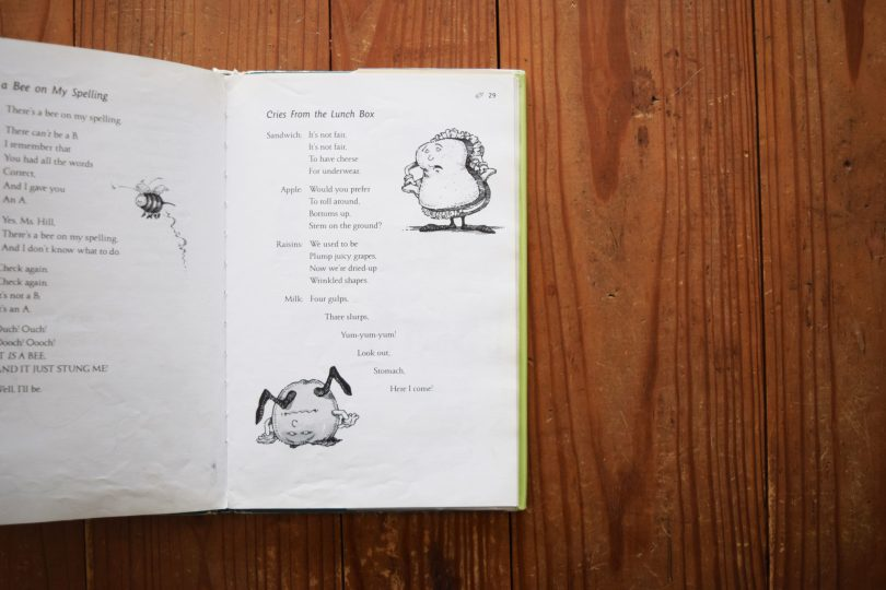 funny poetry books for kids   The Goof Who Invented Homework