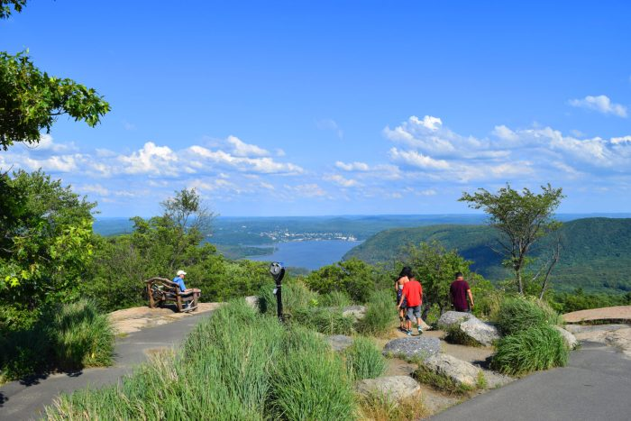 gorgeous views at Perkins Drive in Bear Mountain