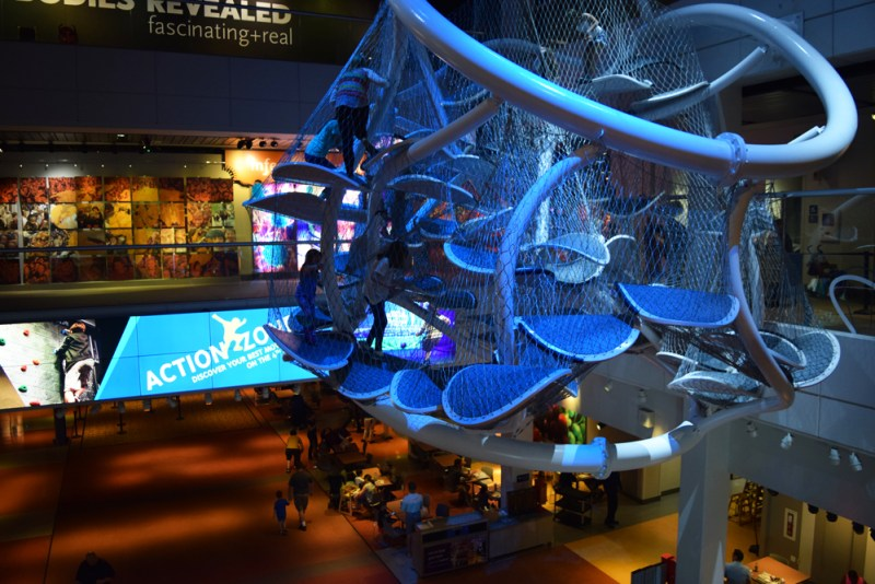 Liberty Science Center | Infinity Climber