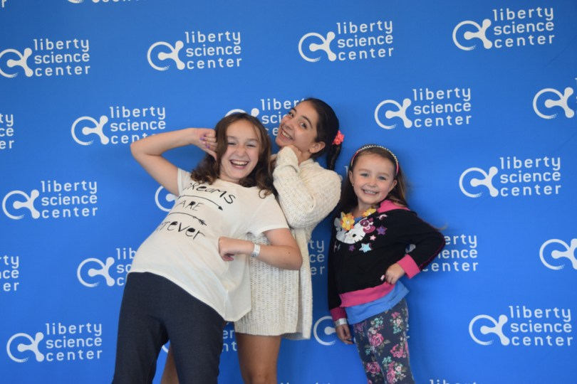 Liberty Science Center with kids