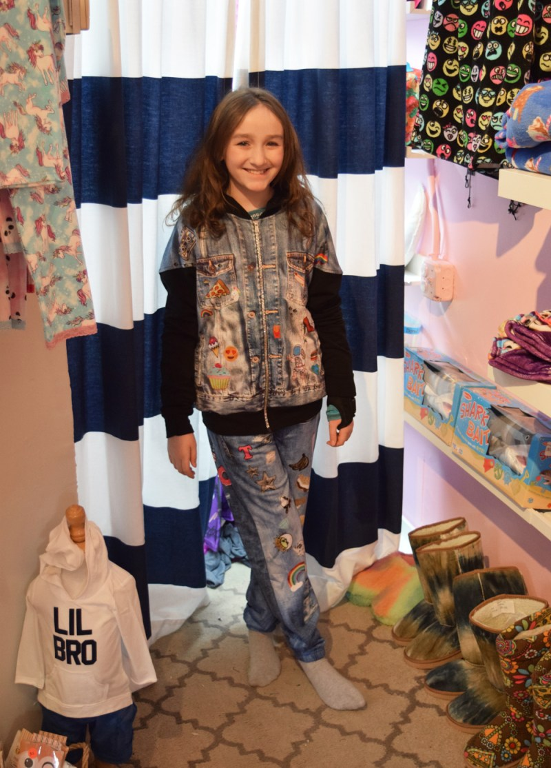 emoji crazy at Wyatt Lily kids clothing boutique