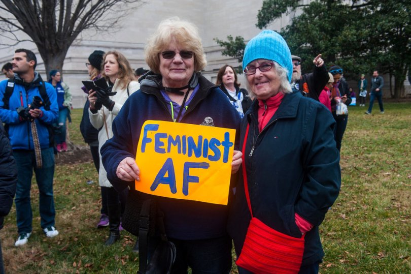 Best signs from the Women's March | Feminist AF via Huffington Post