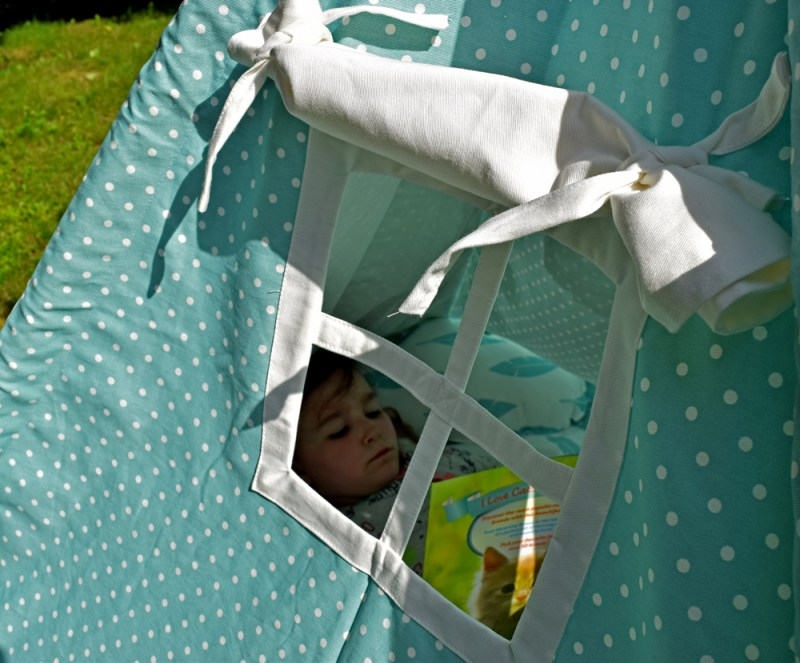 handmade kids play tent | Teepee Joy