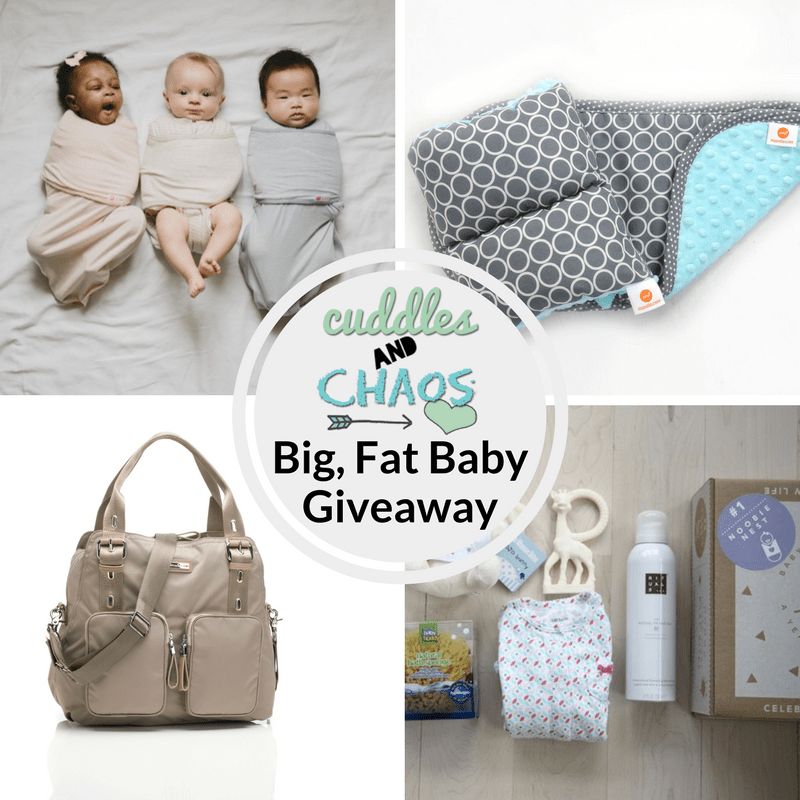 Cuddles and Chaos Big, Fat Baby Giveaway