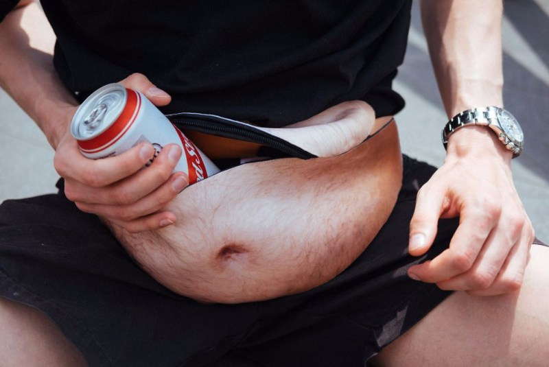 7 Hilarious White Elephant Gift Ideas - Dad Bag Beer Belly Fanny Pack
