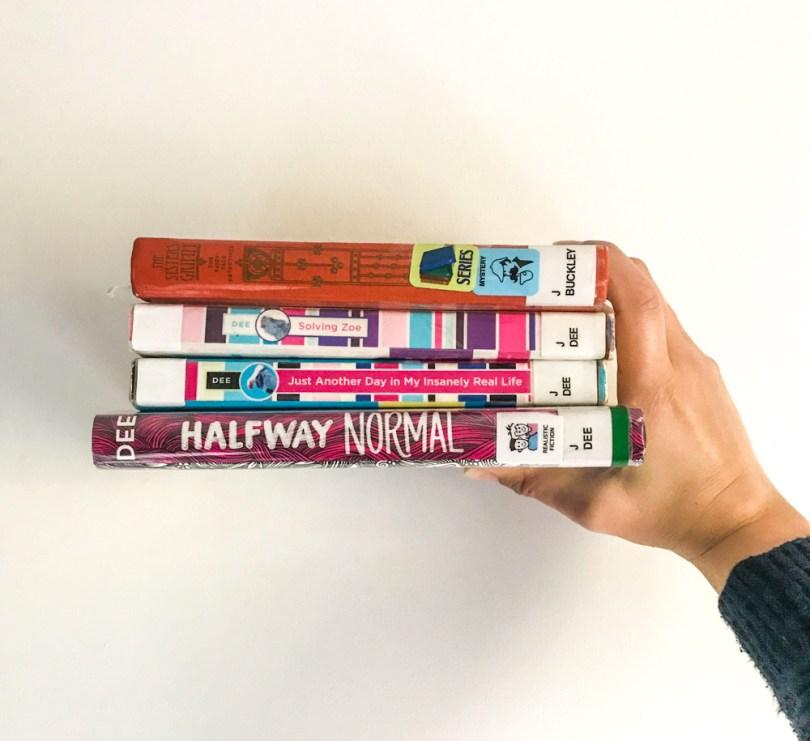 On our bookshelf - October reads - middle grade fiction, kids lit, children's books